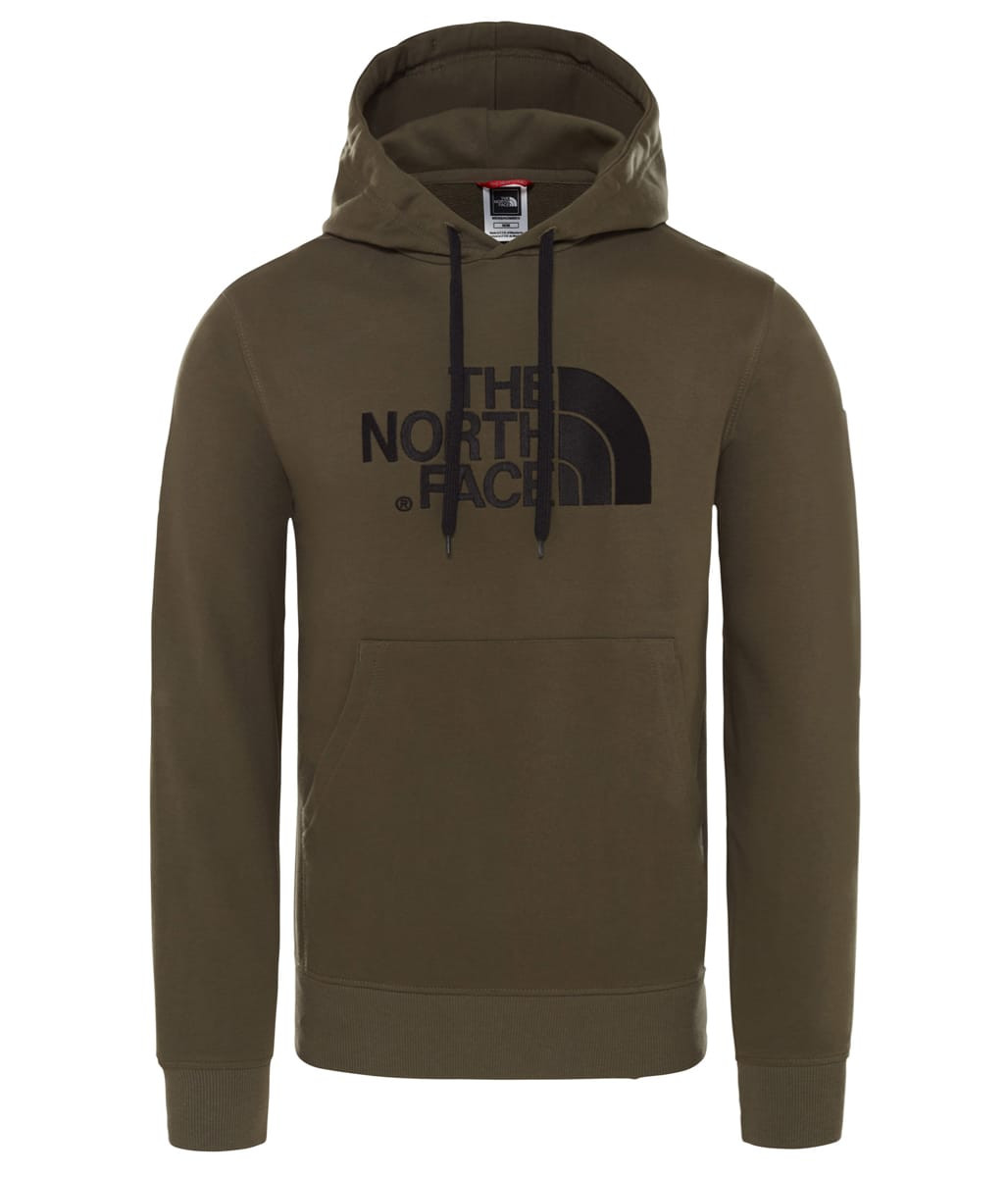 cee60b34 ... The North Face Men's Light Drew Peak Pullover Hoodie New Taupe Green ...