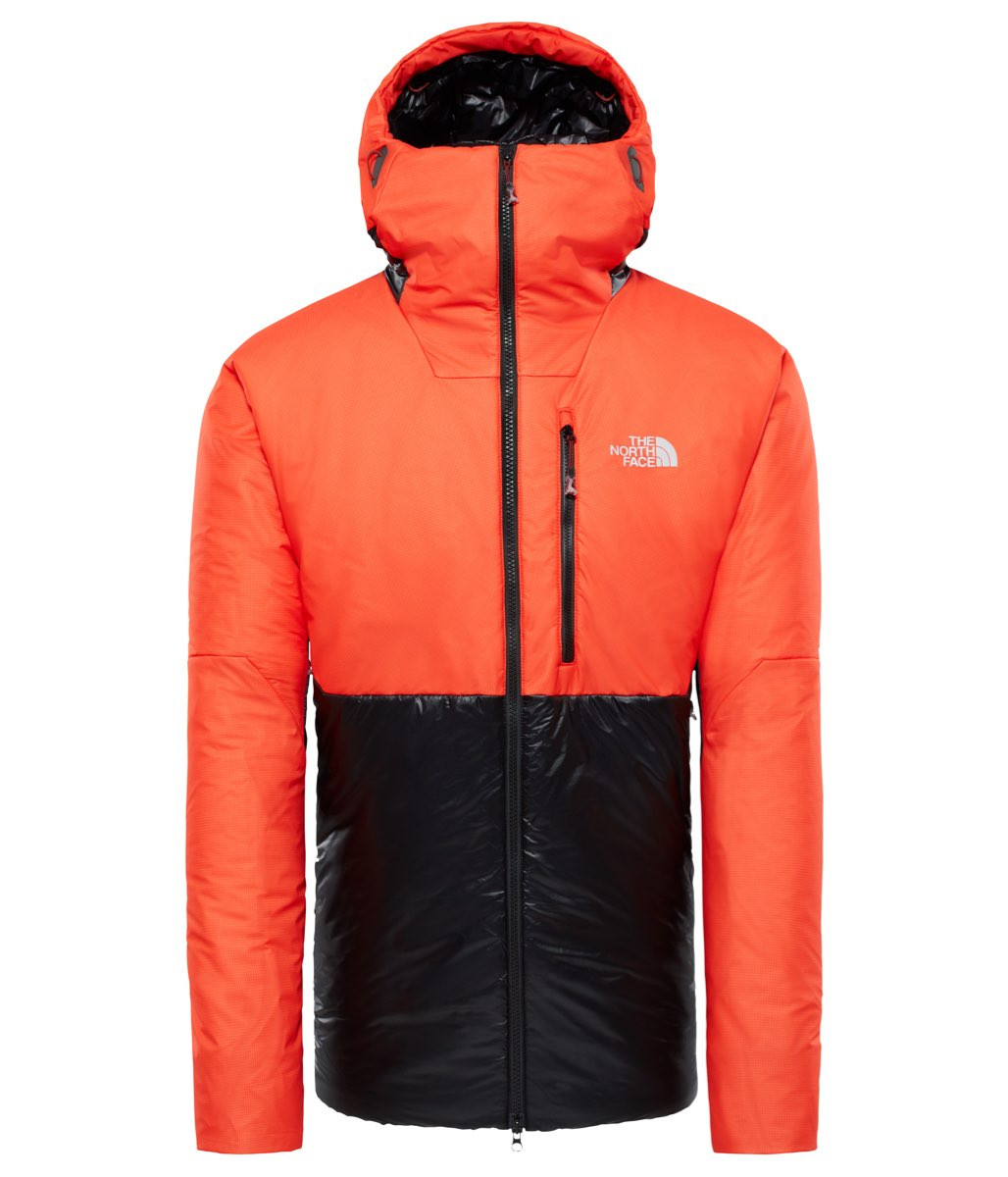 58196116 ... The North Face M Summit L6 Aw Synthetic Belay Parka Tnf Black/Fiery Red  ...