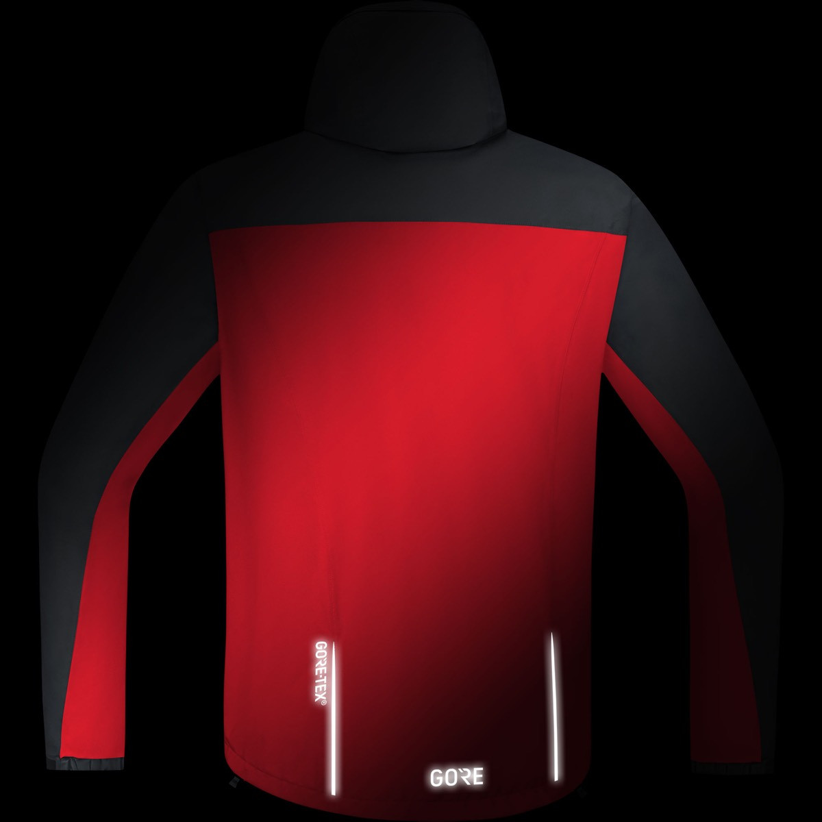 Gore® C3 Gore Tex® Paclite® Hooded Jacket RedBlack