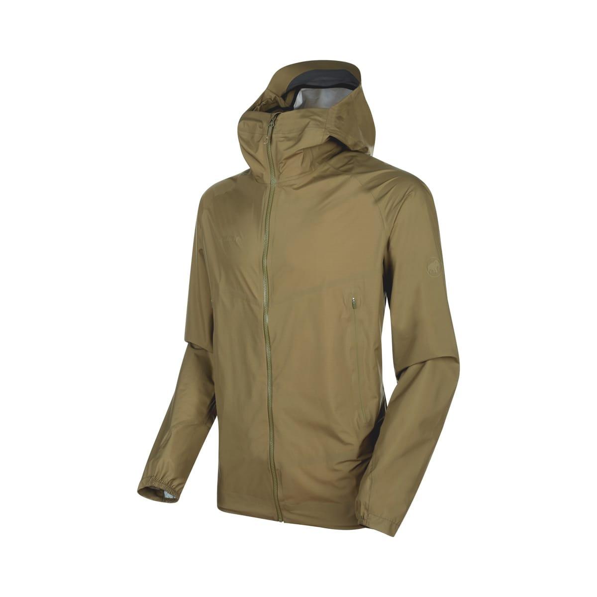 4445eb94 Mammut Masao Light HS Hooded Jacket Men Olive   Fjellsport.no