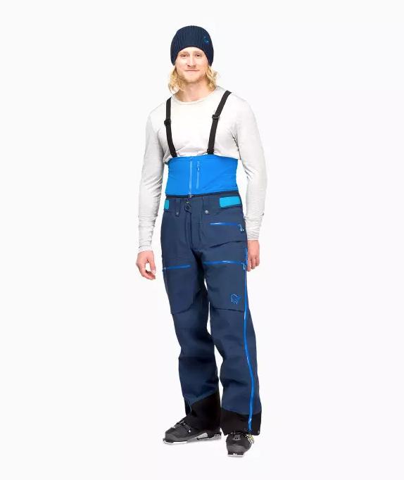 Norrøna Lofoten Gore Tex Pro Pants (M) Caviar