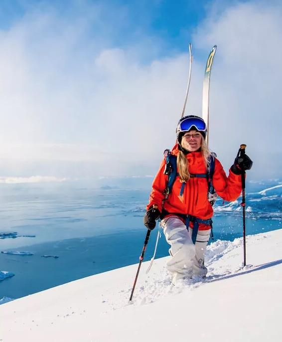 Buy norrøna lofoten gore tex pro bukse dame ice blue outdoor