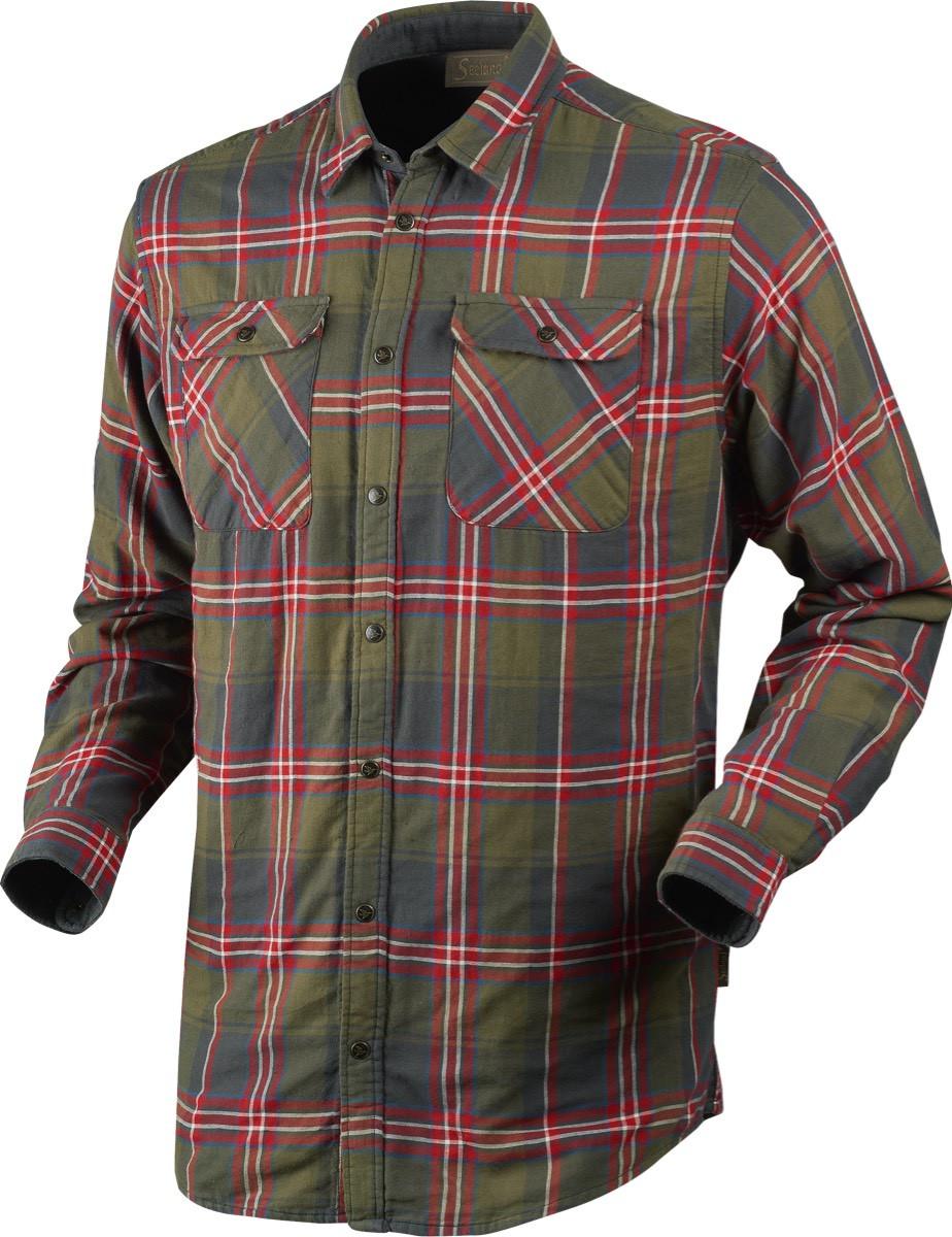 Nolan skjorte Pine check Jaktskjorte | Seeland
