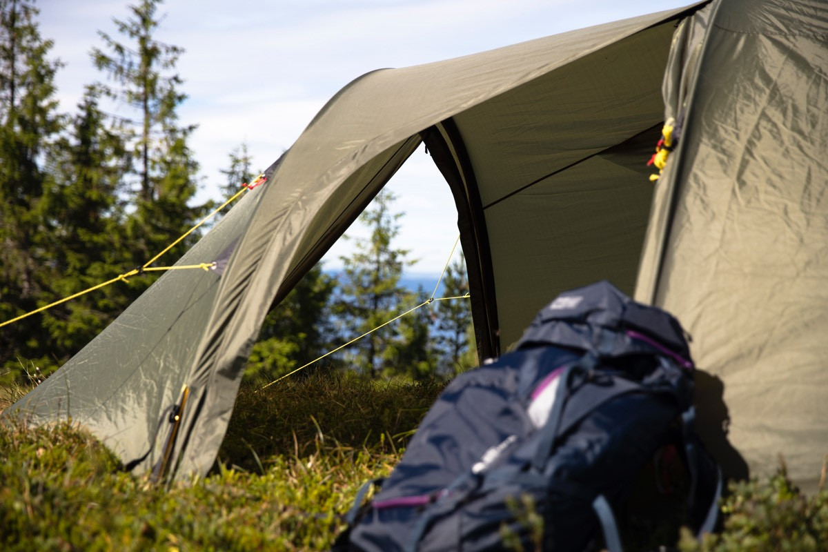 Helsport Lofoten Trek 5 Camp Green | Fjellsport.no