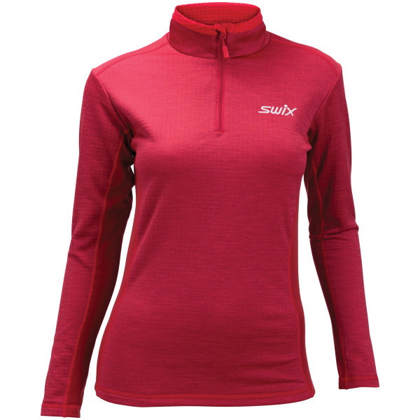 d05ce8fe Swix Star XC Midlayer Women's Red Dahlia | Fjellsport.no