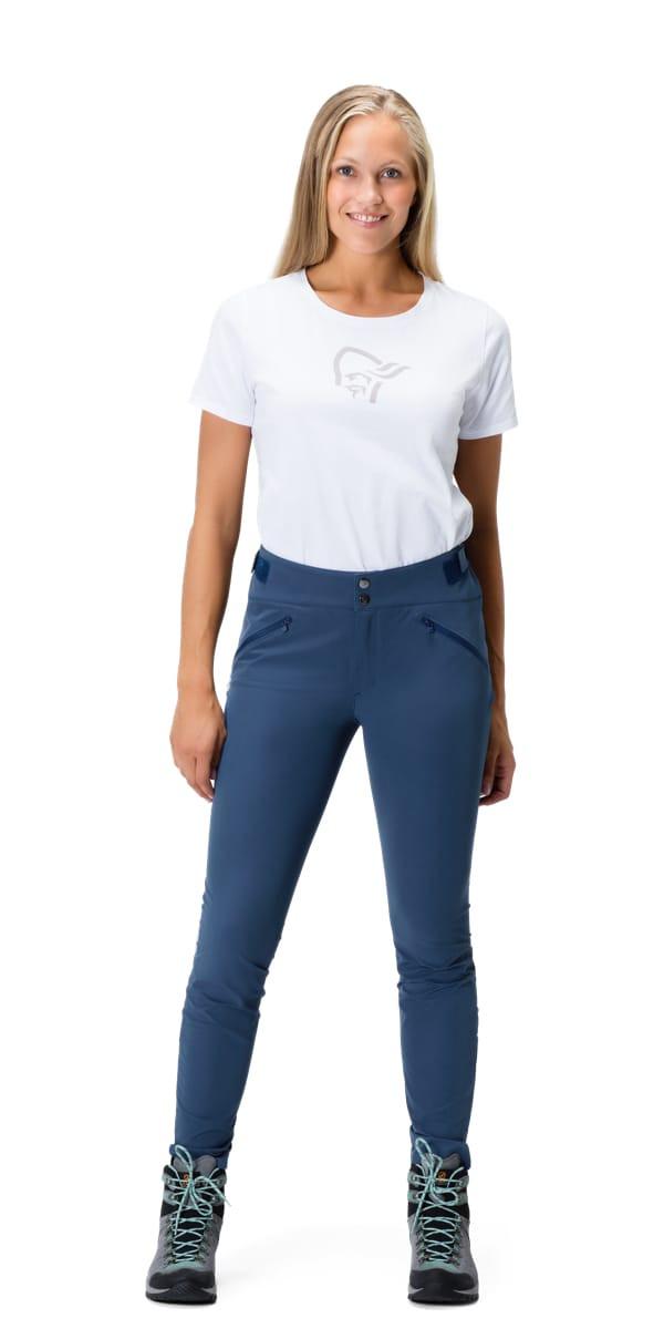 Norrøna Women's Falketind Flex1 Slim Pants Fjellbukse Caviar | XS