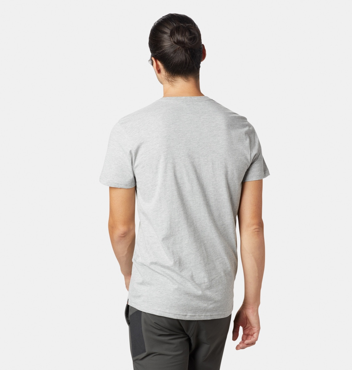 c8eb3e73 Mountain Hardwear M X-Ray Short Sleeve T Heather Grey | Fjellsport.no