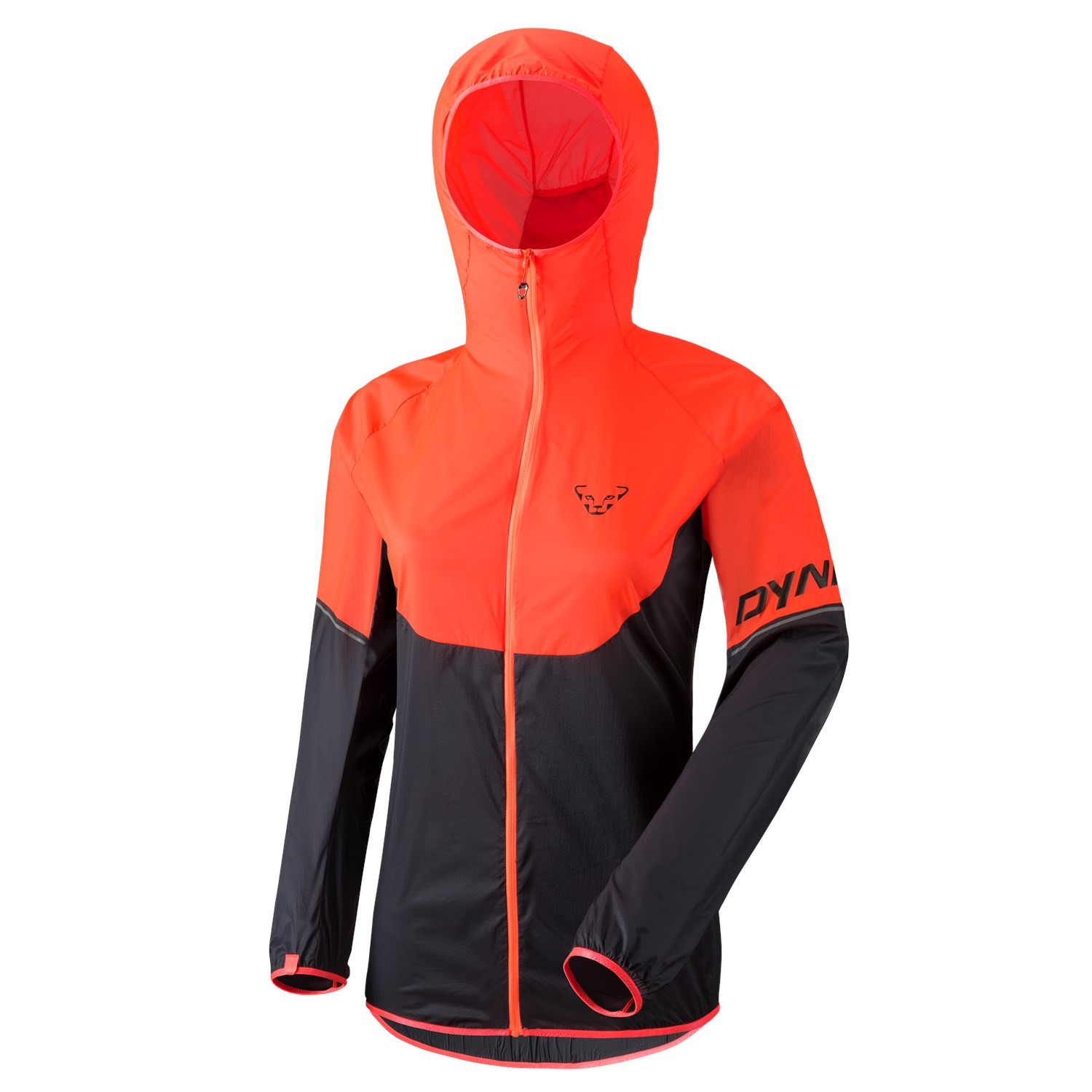 ... Dynafit Vertical Wind Women Jacket 72 Fluo Coral ... 52acc0e60691f
