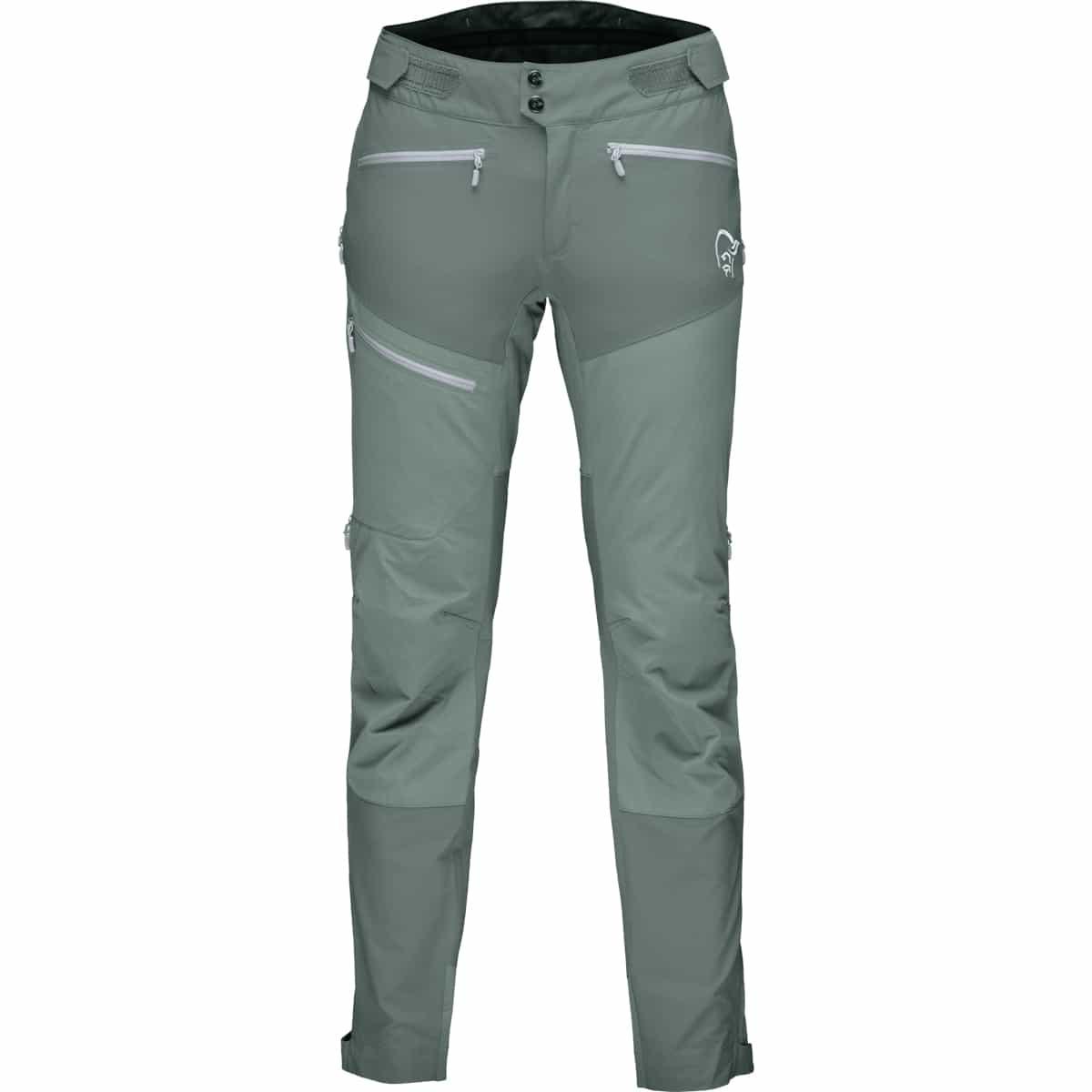 Norrøna Fjørå Flex1 Pants (M) Castor GreyCaviar | Fjellsport.no