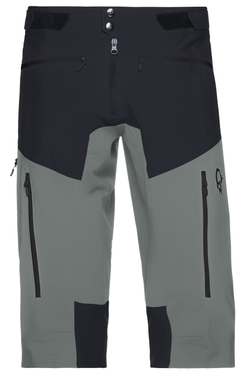 e2ee84d5 Norrøna Fjørå Flex1 Shorts Men's Caviar/Castor Grey | Fjellsport.no