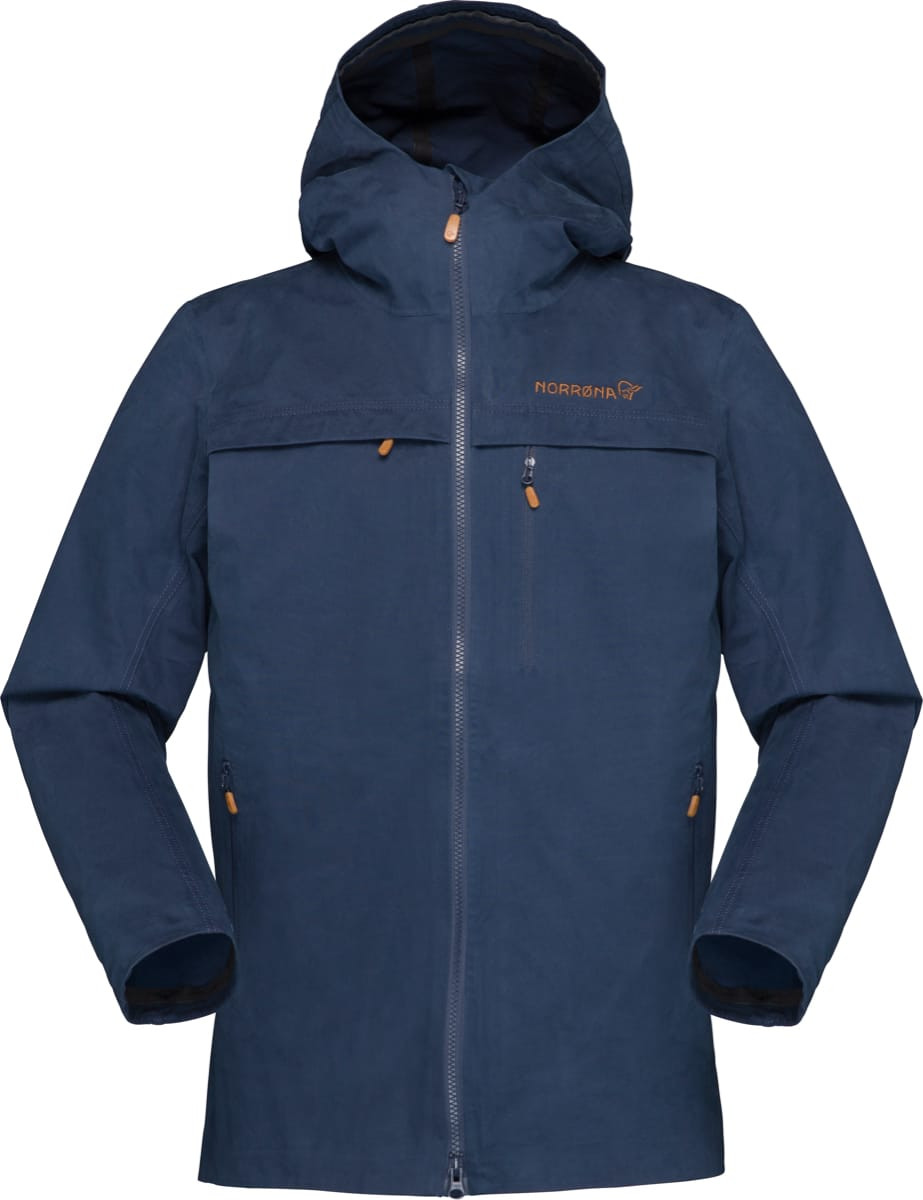 Norrøna Svalbard Cotton Jacket (W) Indigo Night