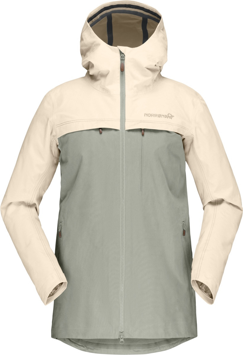 Norrøna Svalbard Cotton Jacket (W) EcruSandstone