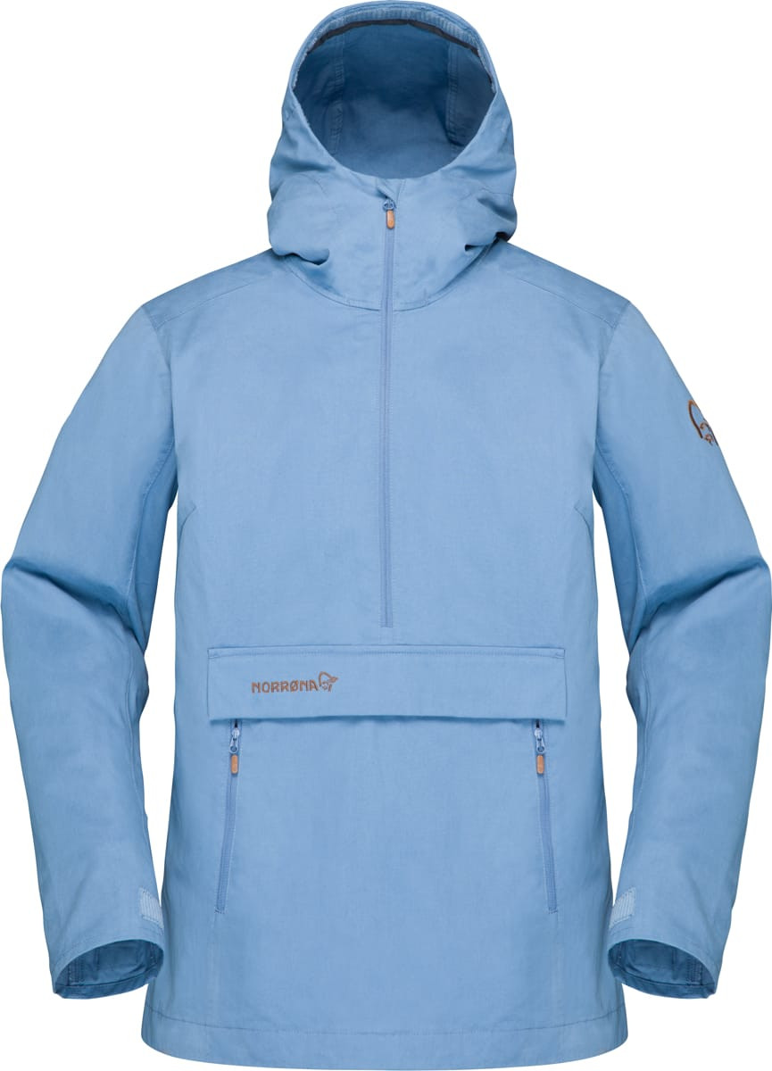 284fc0a8 Norrøna Svalbard Cotton Anorak (W) Coronet Blue   Fjellsport.no