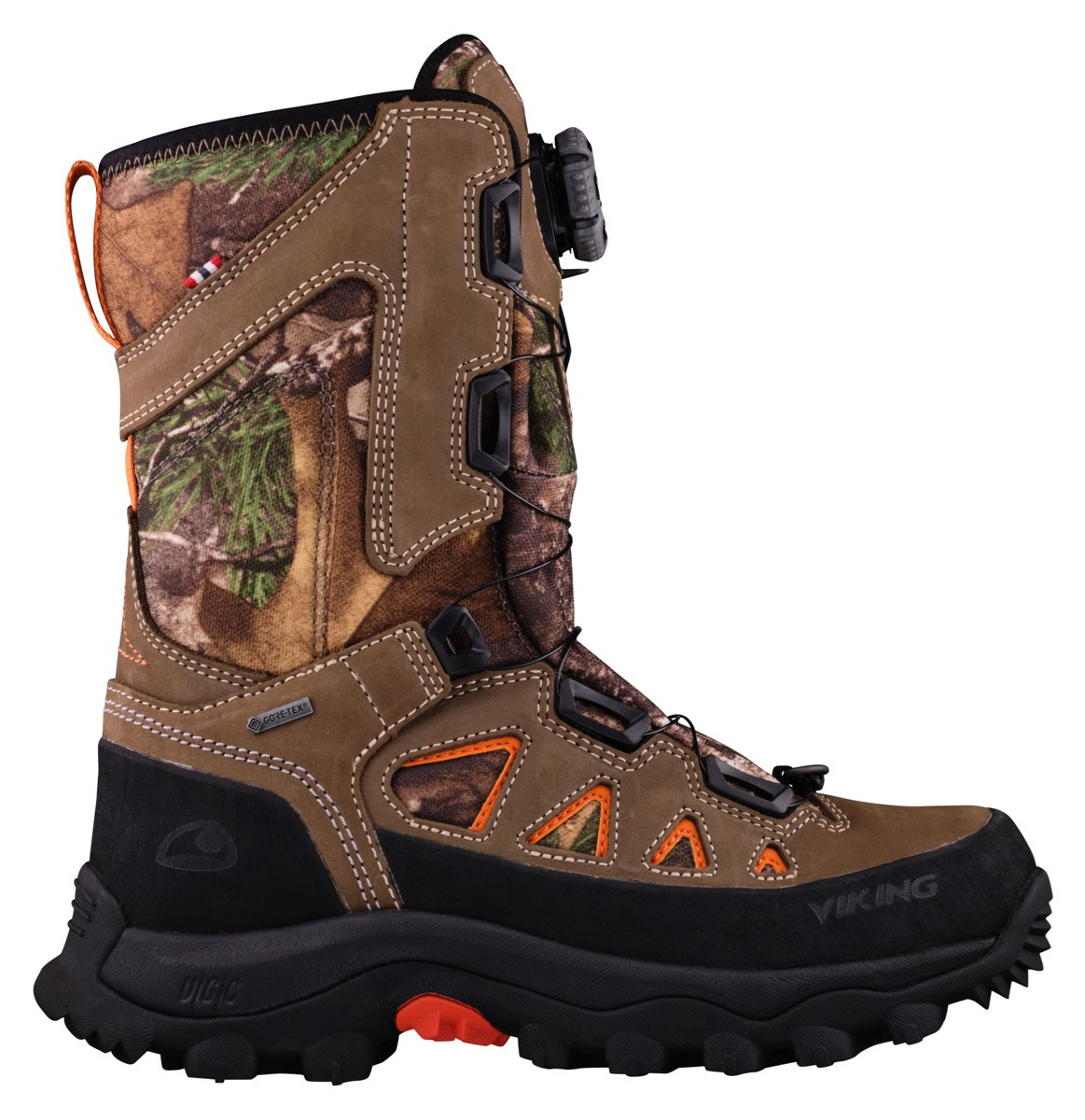 Viking Villrein Rt Boa Gtx CamouflageBurnt Orange