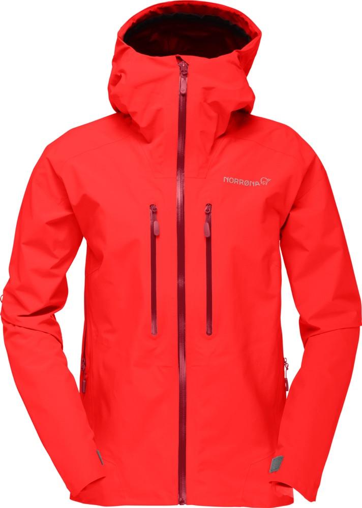 b525840d ... Norrøna Trollveggen Gore-Tex Light Pro Jacket (W) Crimson Kick ...
