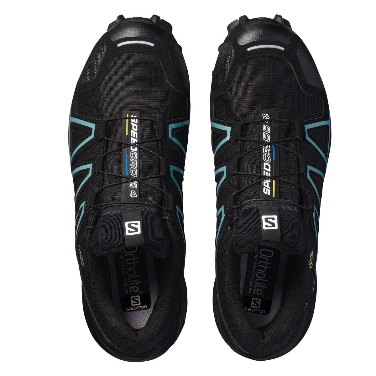 Salomon SPEEDCROSS 4 GTX® W BlackBlackMetallic Bubble Blue