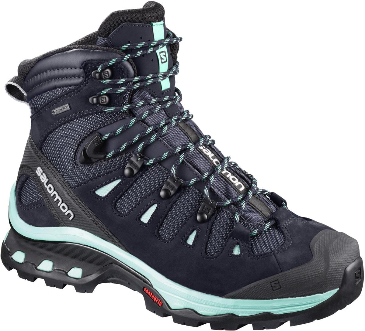 Quest Shoes 3 Women's 4d Glass SkyBeach Gtx Salomon GraphiteNight Yvgbf76y