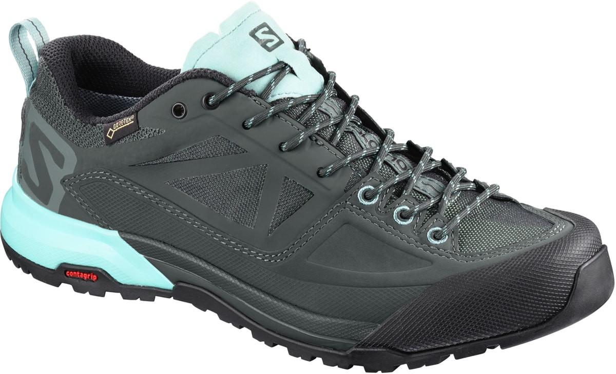 77da6322 Salomon Shoes X Alp Spry Gtx Women's Balsam Green/Urban Chic/Canal Blue