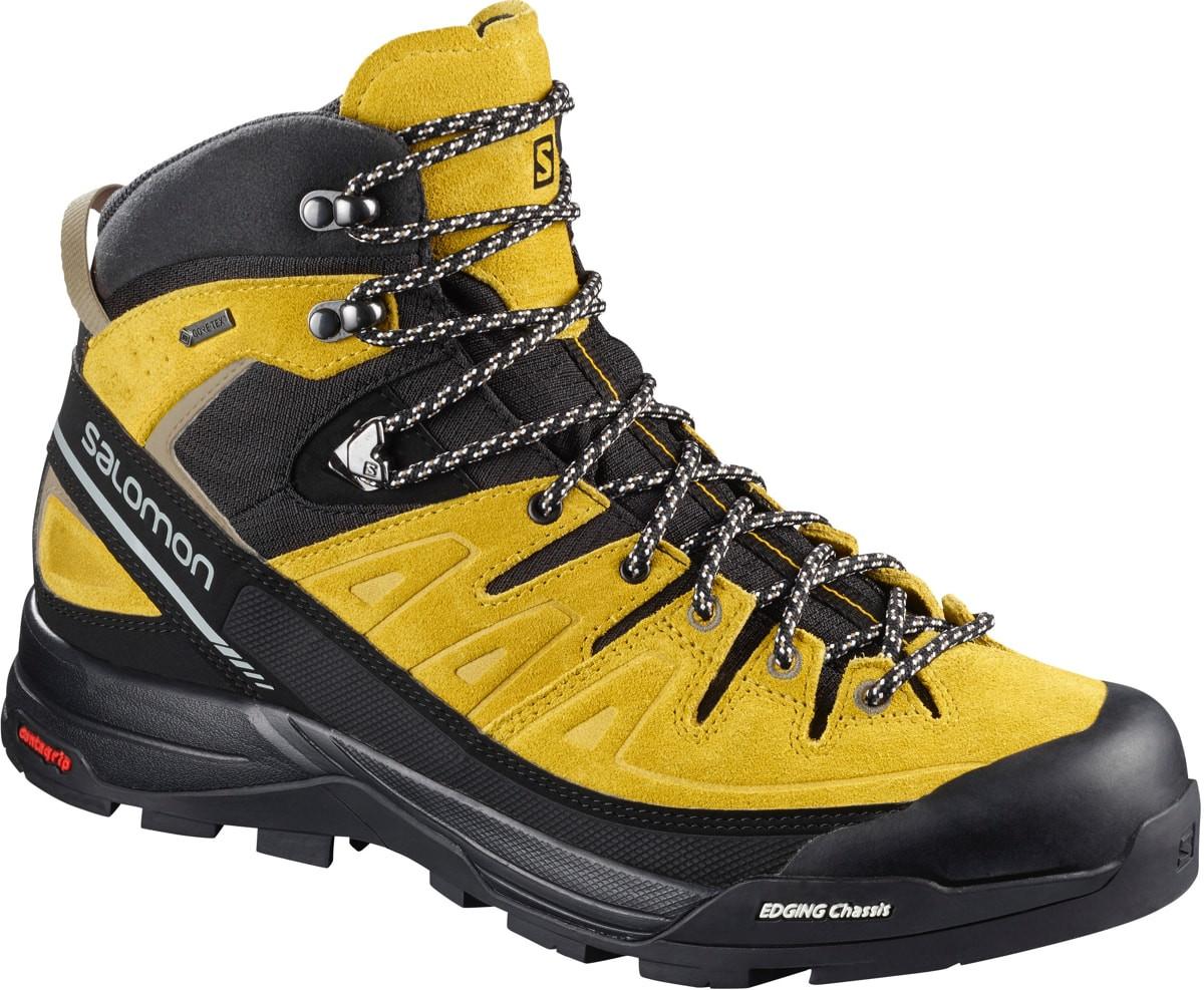Salomon Shoes X Alp Mid Ltr Gtx Green SulphurVintage KakiBlack