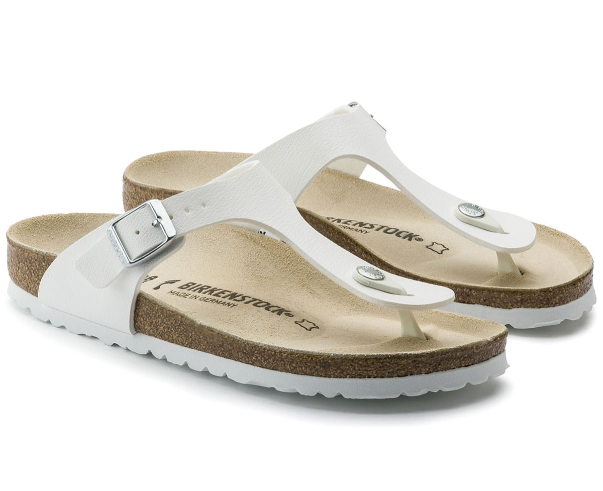 Birkenstock Gizeh Regular White