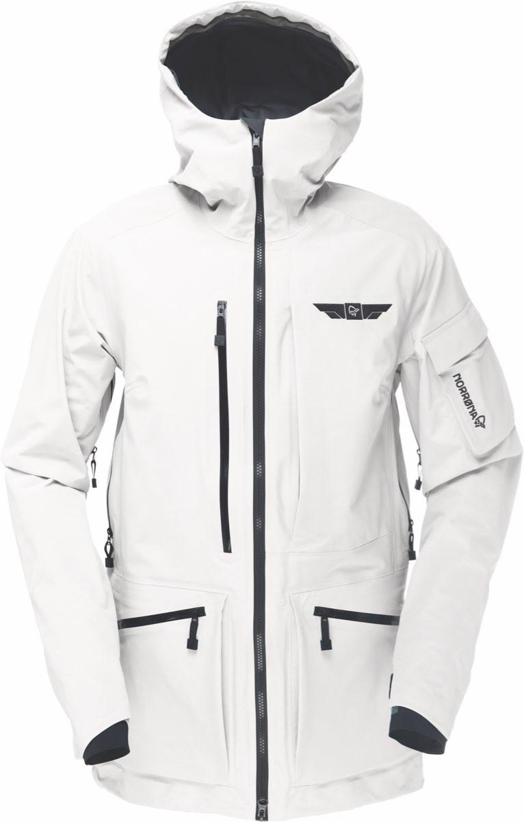ad377ffb Norrøna Tamok Gore-Tex Jacket (W) Snowdrop | Fjellsport.no