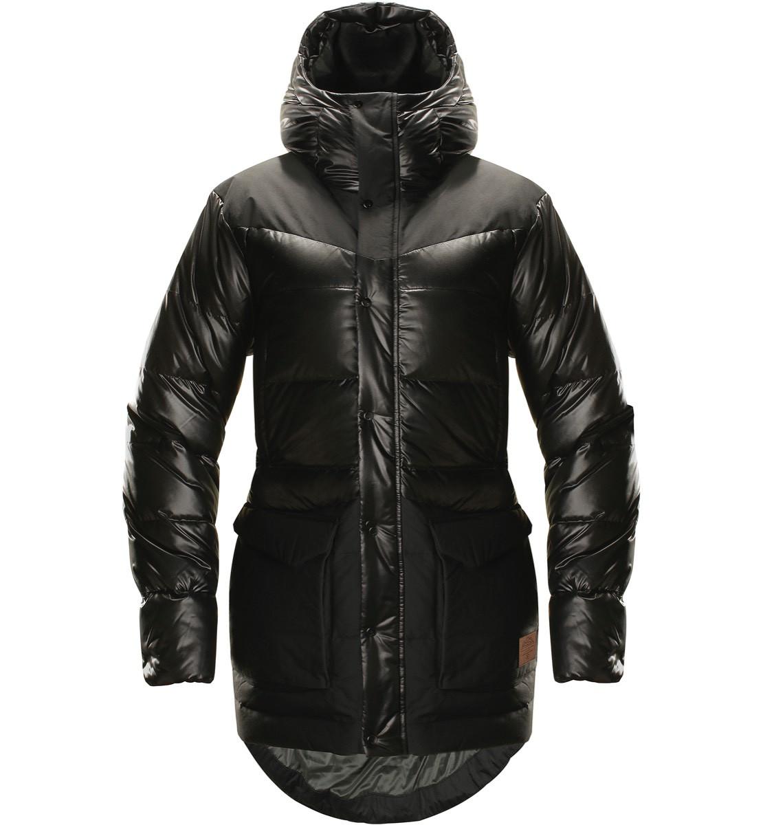 e0889f28 Haglöfs Venjan Down Jacket Women True Black | Fjellsport.no