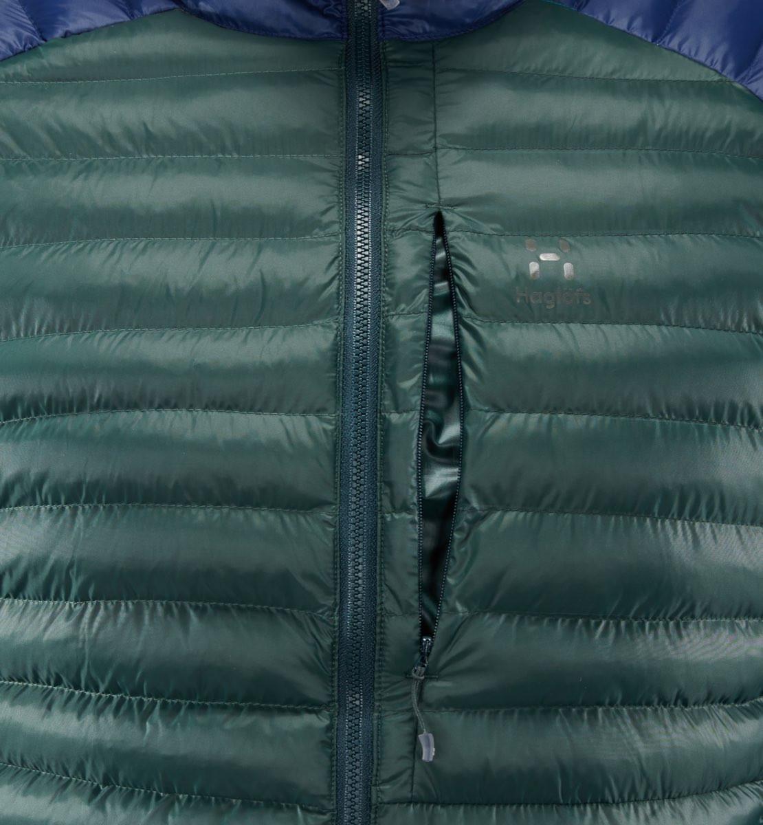 dc8906b3d46 Haglöfs Essens Mimic Jacket Men Mineral/Tarn Blue   Fjellsport.no