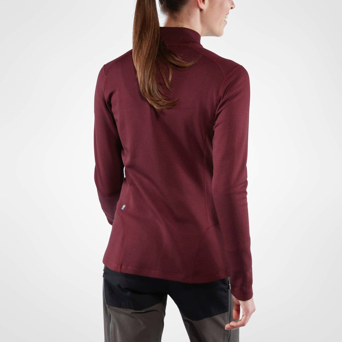 Fjällräven Keb Wool Sweater Women's Dark Garnet