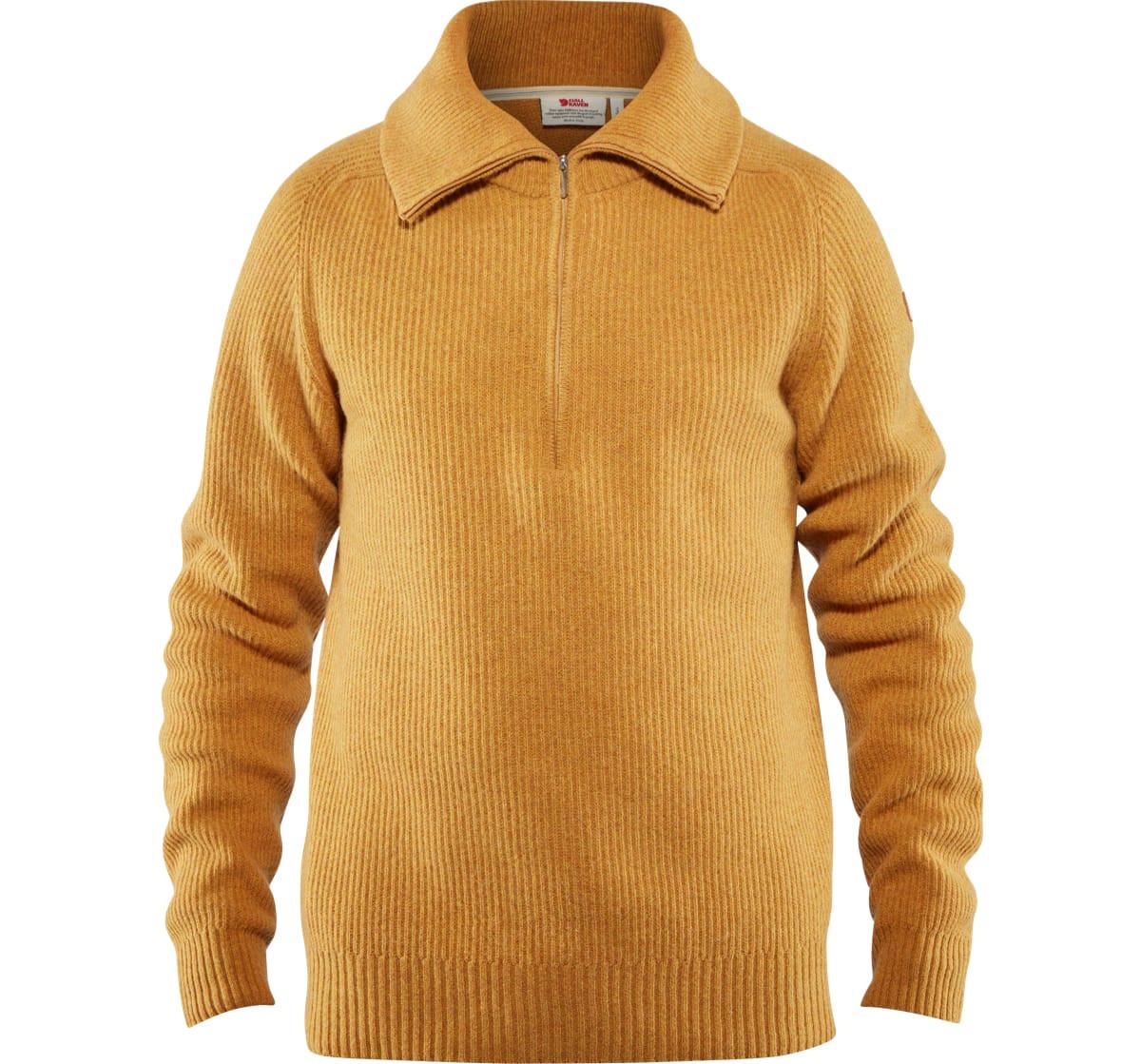 fjellreven genser gul