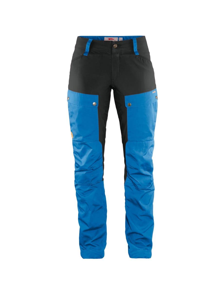 Fjällräven Keb Trousers Curved Women's Un Blue Stone Grey