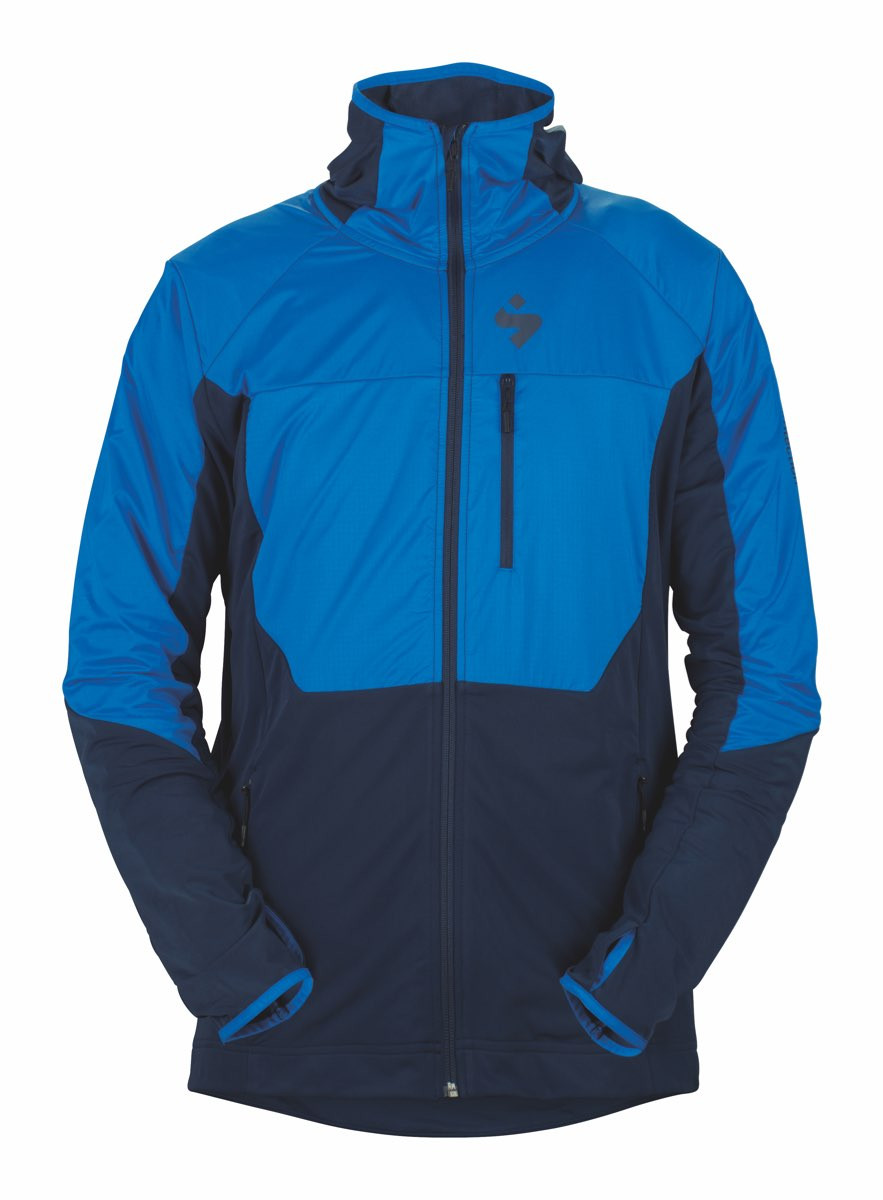 76fd1b0a Sweet Protection Supernaut Fleece Hood Jacket M Flash Blue/Midnight Blue