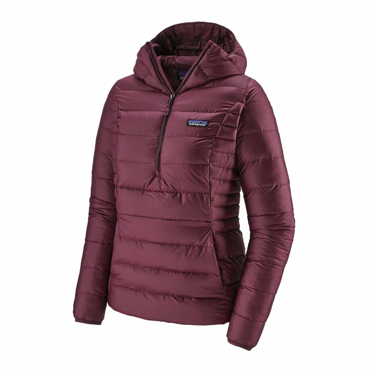 Patagonia W Down Sweater Hoody dunjakke med hette dame Black