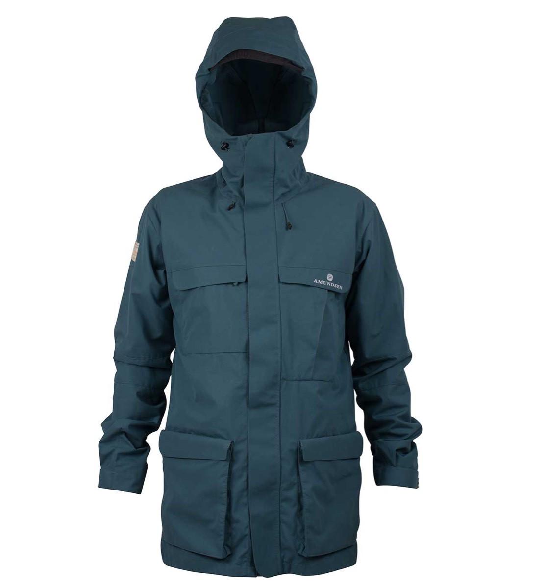 Amundsen Vidda Jacket Mens Faded Blue   Platou Sport
