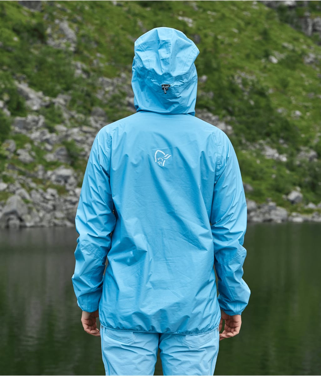 Norrøna Bitihorn Dri1 Jacket (W) Sunny Lime | Fjellsport.no