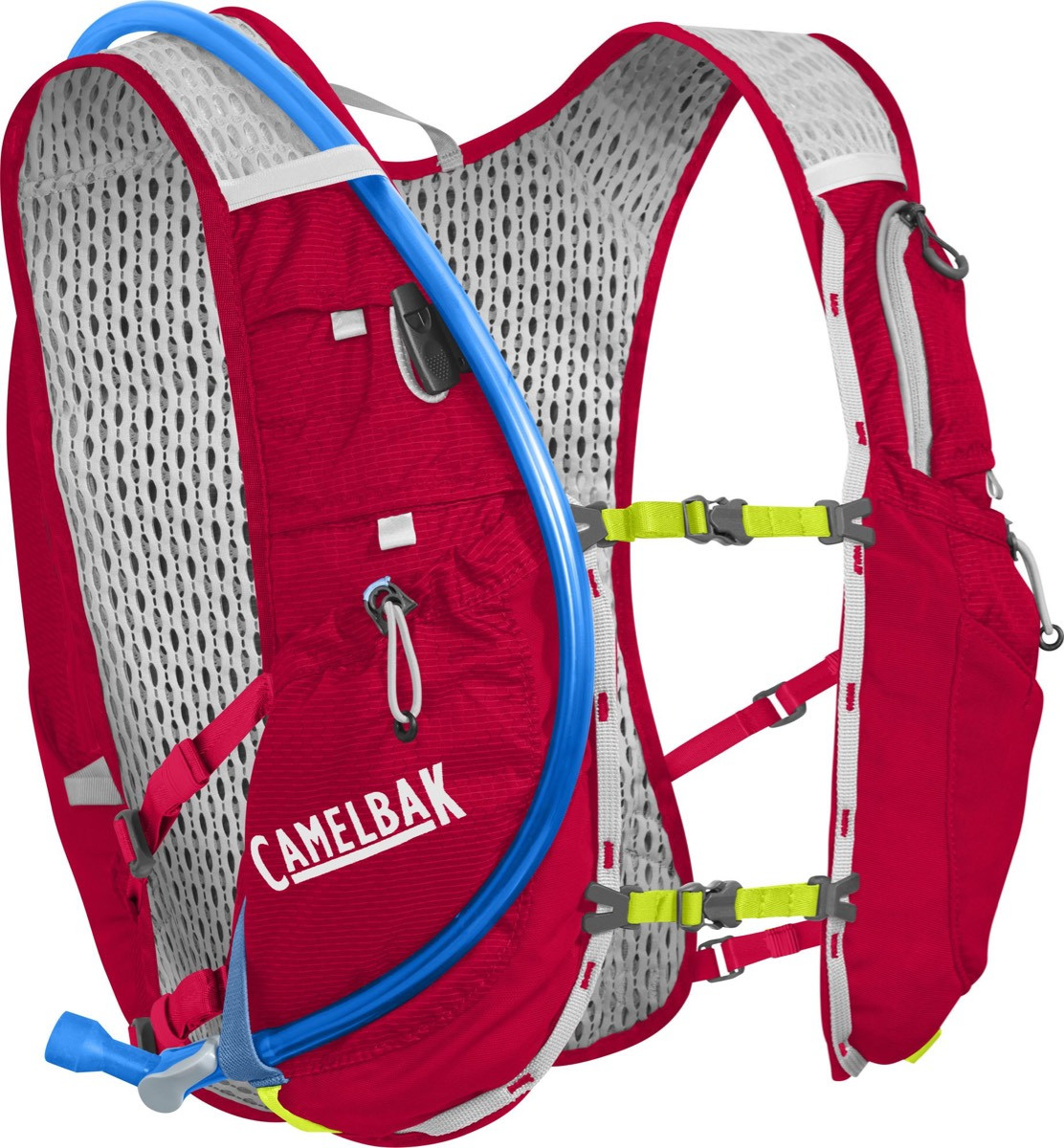 Camelbak Drikkevest Ultra 10vest Crimson Red/Lime Pun 70 oz