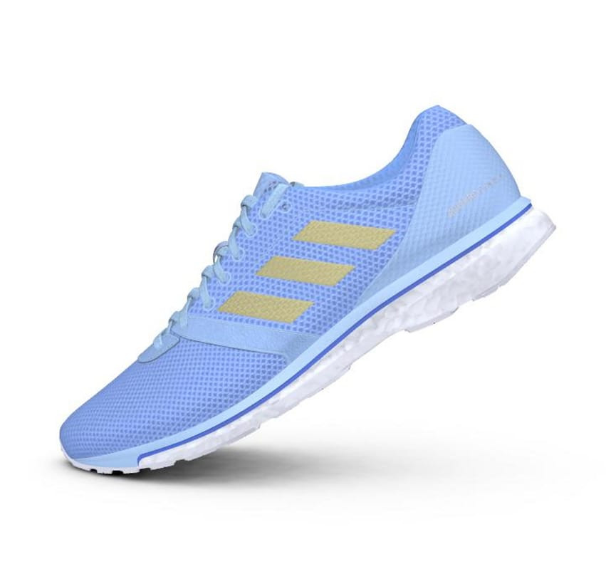Adidas Adizero Adios 4 Women's GlobluGoldmtReablu
