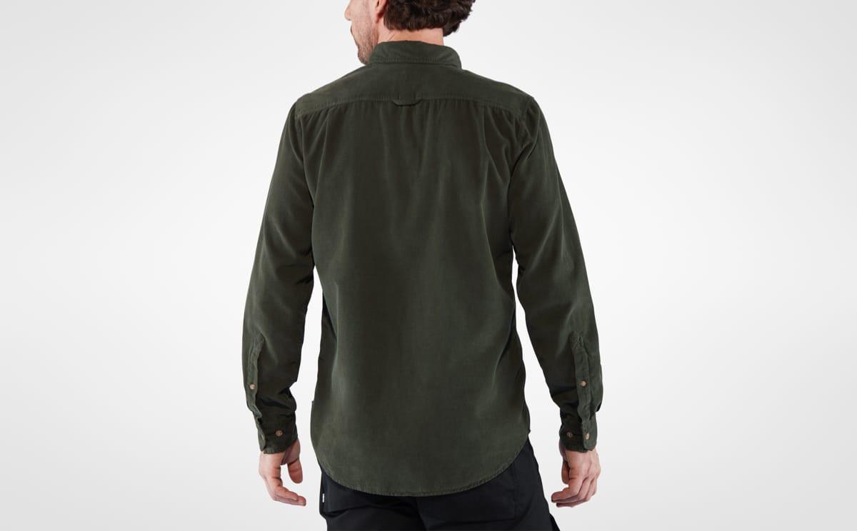 Fjällräven Övik Cord Shirt Men's Dark Navy   Fjellsport.no