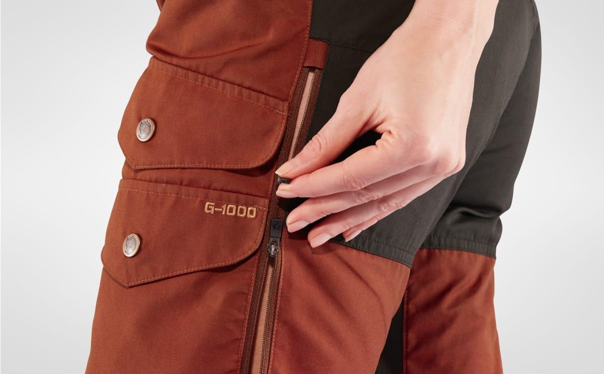 Fjällräven Vidda Pro Ventilated Trousers Women's Black
