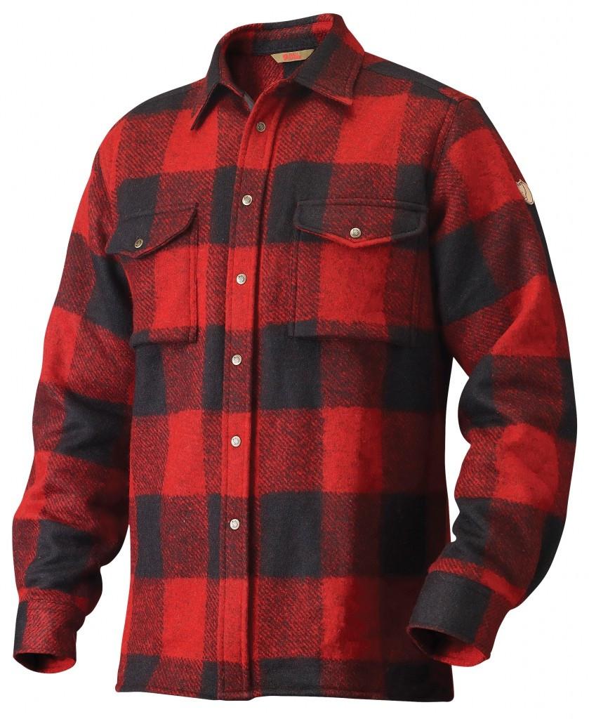Fjällräven Canada Shirt M herre (black)   Platou Sport