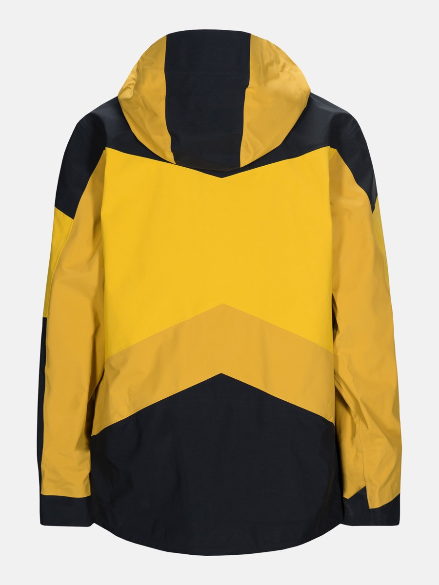 Peak Performance Gravity Jacket Yellow Flow | Fjellsport.no