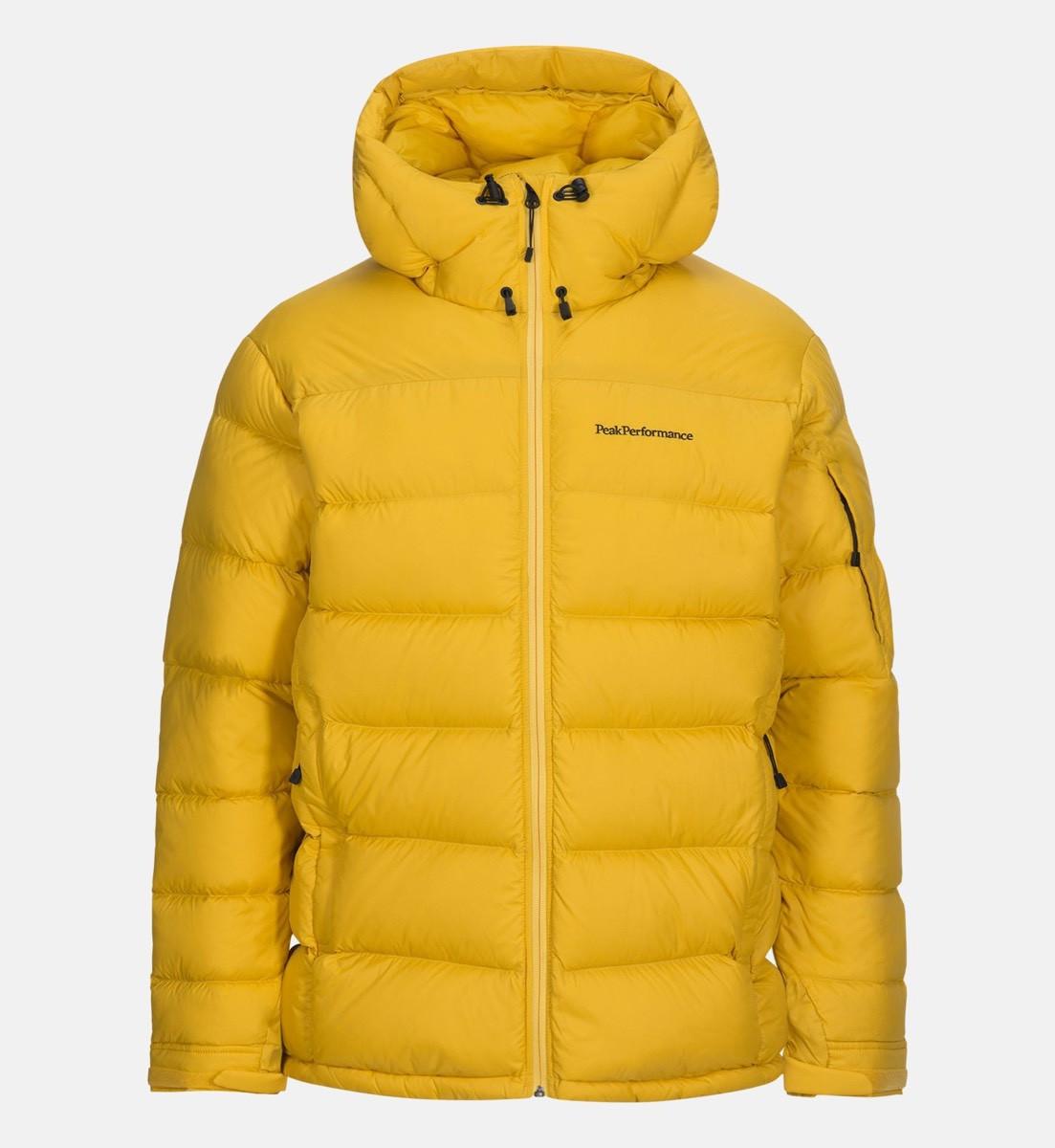 82355075007 Peak Performance Frost Down Jacket Desert Yellow Peak Performance Frost Down  Jacket Desert Yellow ...