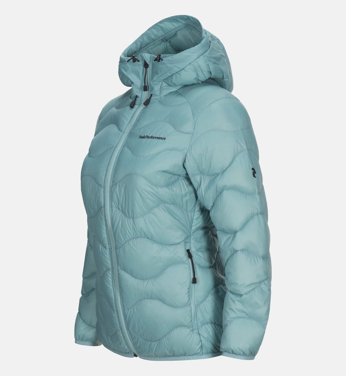 fe73a04f Peak Performance Women Helium Hood Jacket Nile Blue | Fjellsport.no