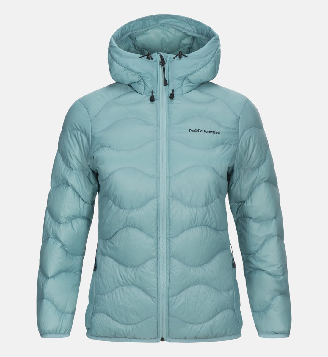 fe73a04f Peak Performance Women Helium Hood Jacket Nile Blue | Fjellsport.no