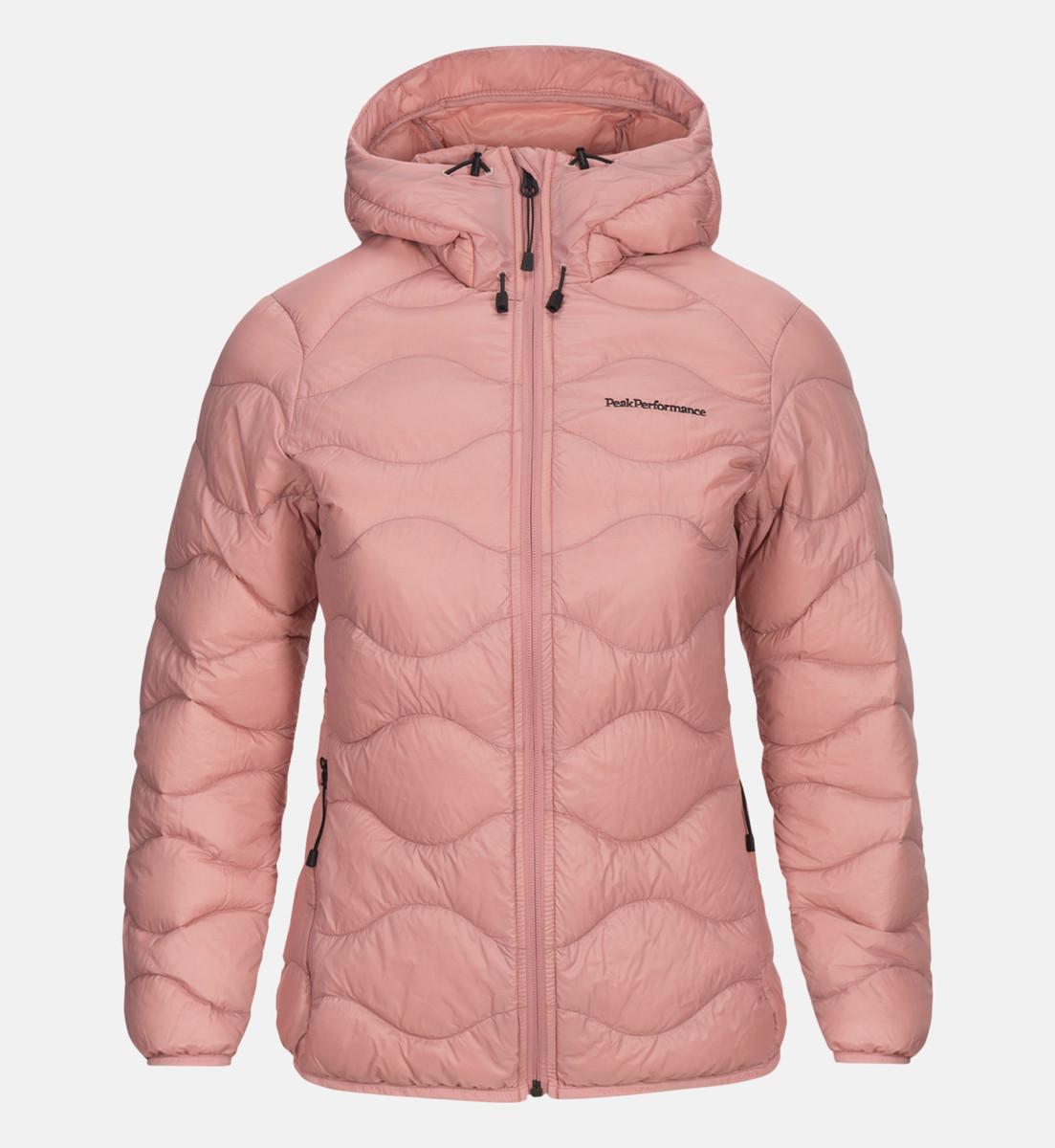 beff15534af Peak Performance Women Helium Hood Jacket Warm Blush | Fjellsport.no