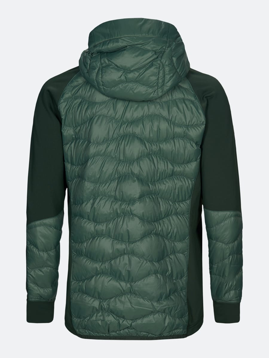 Peak Performance M Helium Hybrid Hooded Jacket Alpine Tundra