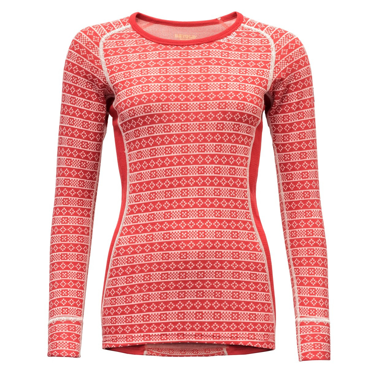 b3122d3d Devold Alnes Woman Shirt Chilli | Fjellsport.no