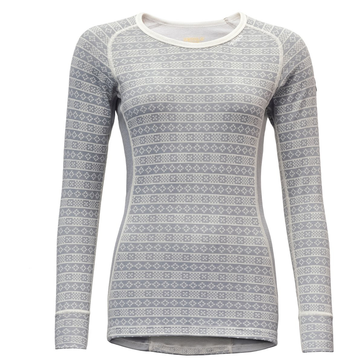 bf06261c Devold Alnes Woman Shirt Grey | Fjellsport.no