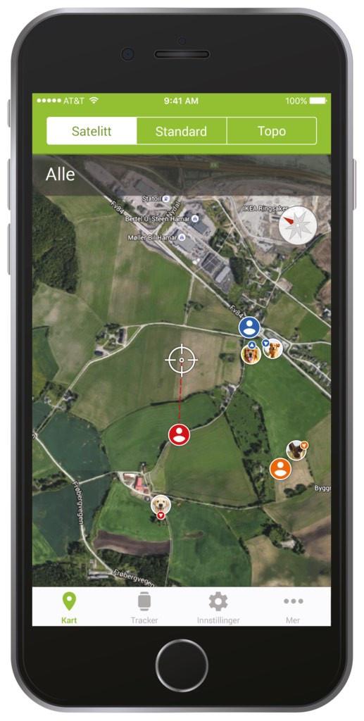 GPS-kobling nettsted