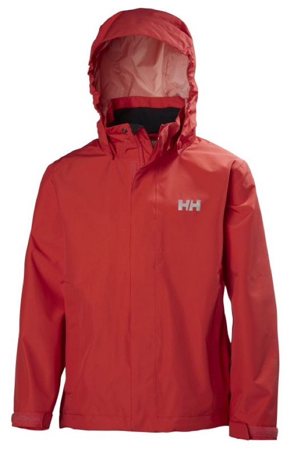 656f2519 Helly Hansen Junior Seven J Jacket Cayenne | Fjellsport.no