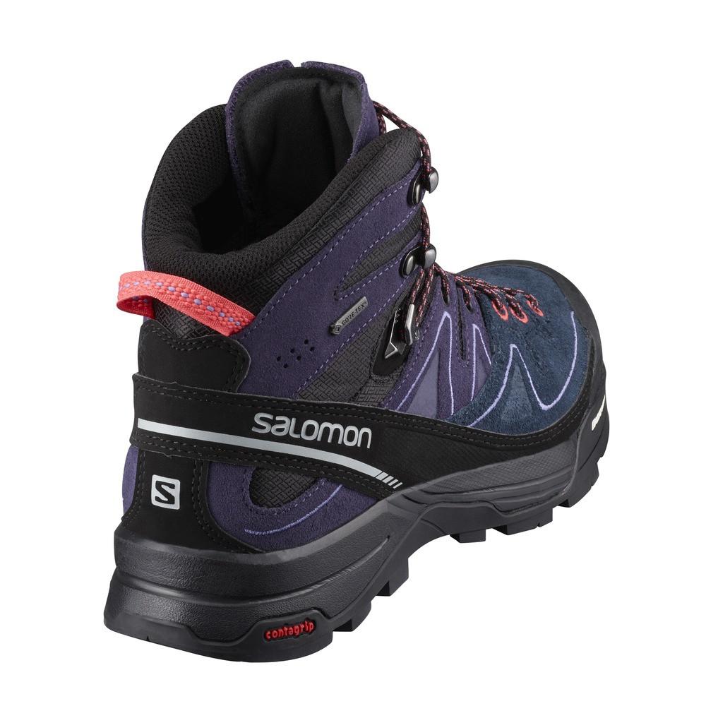 Salomon X Alp Mid Ltr GTX Women's BkNightshadeCoral